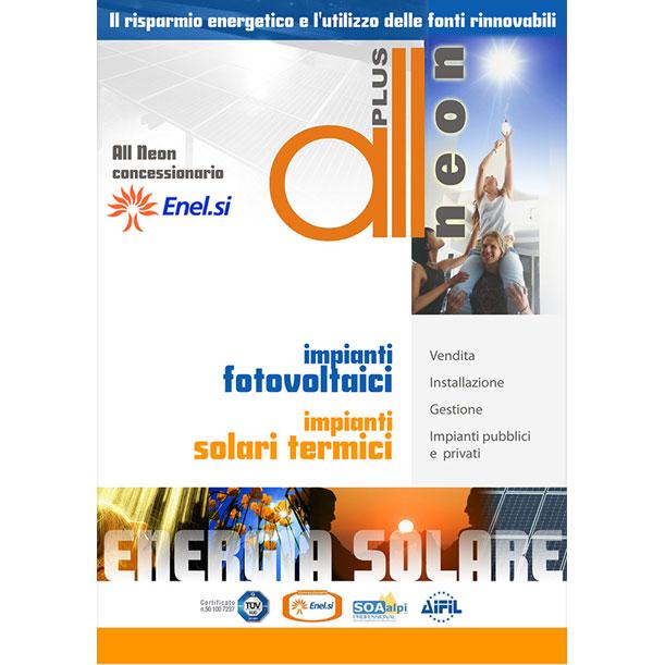 Studio grafico - Volantino - ALLNEON PLUS SRL