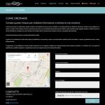 WEB - Cimediluce - Pagina contatti e ordini