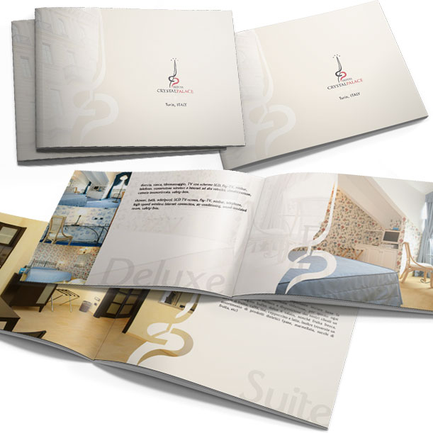 Studio grafico - Brochure - HOTEL CRYSTAL PALACE