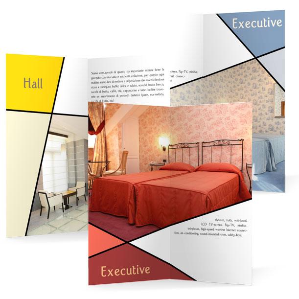 Studio grafico - Pieghevole - HOTEL CRYSTAL PALACE