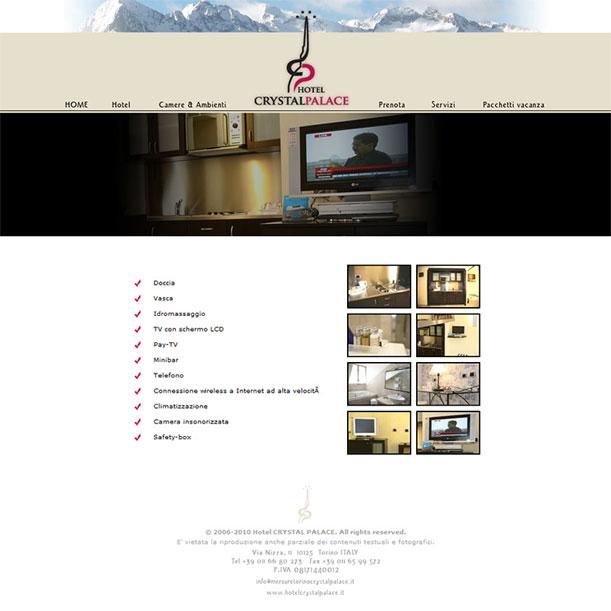 Sito Web - HOTEL CRYSTAL PALACE