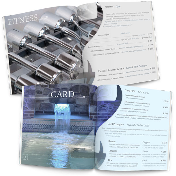 Grafica - H14 Fitness & Wellness - Brochure