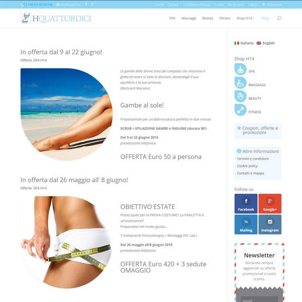 Sito Web - SPA H14 - Blog