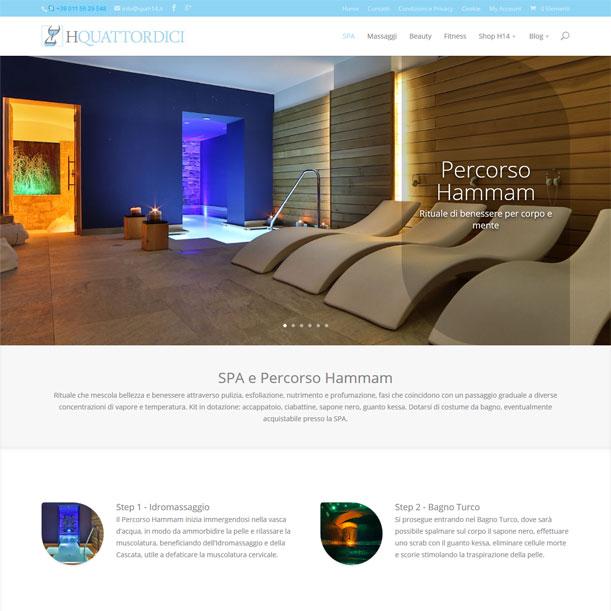 Sito Web - SPA H14 - Pagina area SPA