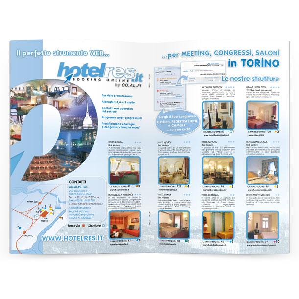 Studio grafico - Pubblicità - Hotelres