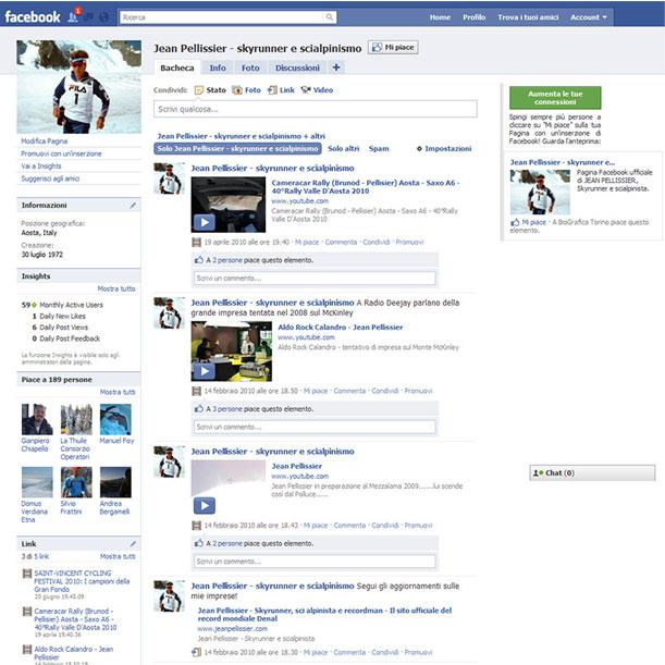 Sito Web - Jean Pellissier
