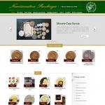 Sito Web - Numismatica Pacchiega - Home page