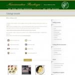 Sito Web - Numismatica Pacchiega - Pagina del catalogo monete