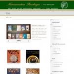 Sito Web - Numismatica Pacchiega - Pagina del catalogo libri