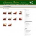 Sito Web - Numismatica Pacchiega - Pagina con vetrina degli articoli