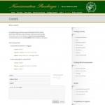 Sito Web - Numismatica Pacchiega - Pagina dei contatti