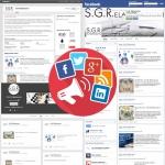 Sito web - SGR Elaborazioni - Pagine social