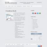Sito web - SGR Elaborazioni - Pagina Servizi