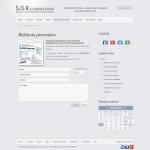 Sito web - SGR Elaborazioni - Pagina Contatti