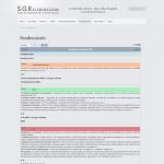 Sito web - SGR Elaborazioni - Pagina scadenziario