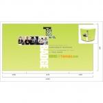 Studio grafico - Bancone per stand fieristico  - TUOLOGO SRL