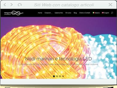 Sito Web - Cimediluce - Portfolio creazioni artistiche