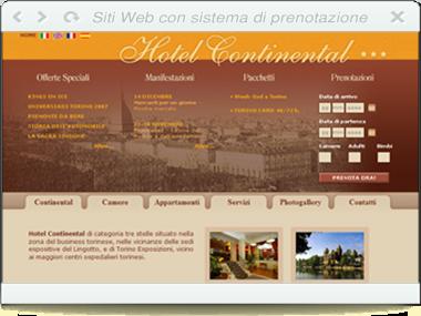 Web - HOTEL CONTINENTAL- Torino