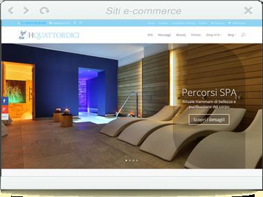 Sito Web – SPA H14 – Vendita e prenotazione online