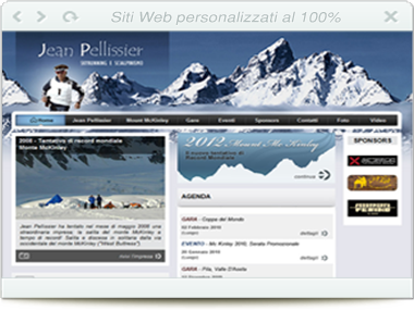 Sito web - Jean Pellissier - Ski runner e sci alpinismo