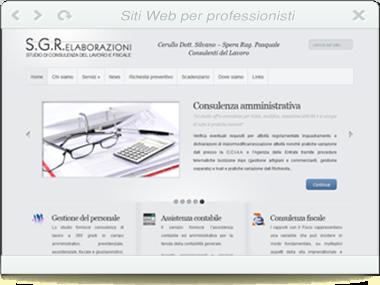 Sito web - SGR Elaborazioni